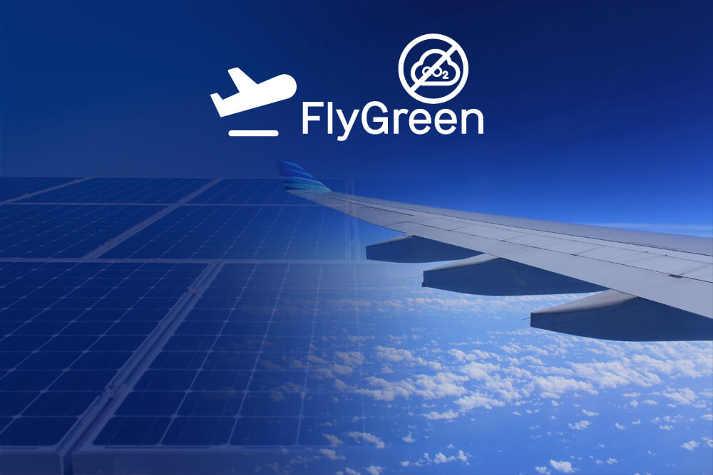The Offsetting Carbon Emissions of your flight travel product recommended by Jelle from FlyGRN on Lifney.